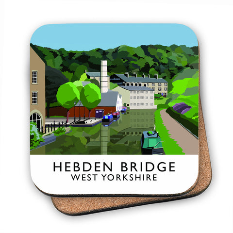Hebden Bridge, West Yorkshire MDF Coaster