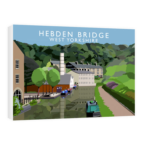 Hebden Bridge, West Yorkshire 60cm x 80cm Canvas