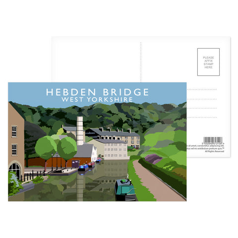 Hebden Bridge, West Yorkshire Postcard Pack