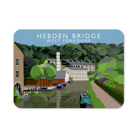Hebden Bridge, West Yorkshire Mouse Mat