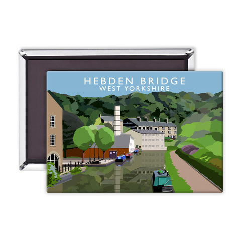 Hebden Bridge, West Yorkshire Magnet