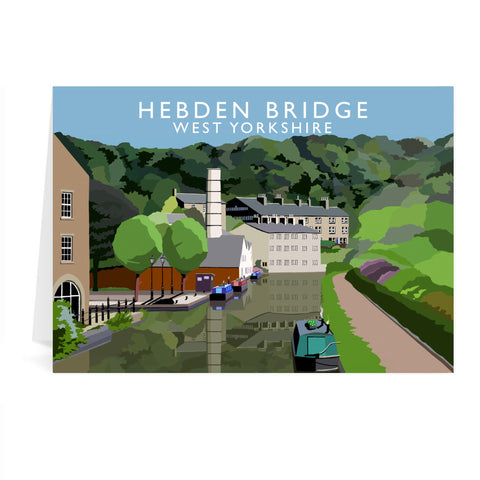Hebden Bridge, West Yorkshire Greeting Card 7x5