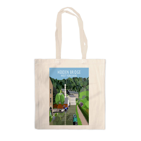Hebden Bridge, West Yorkshire Canvas Tote Bag