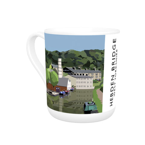 Hebden Bridge, West Yorkshire Bone China Mug