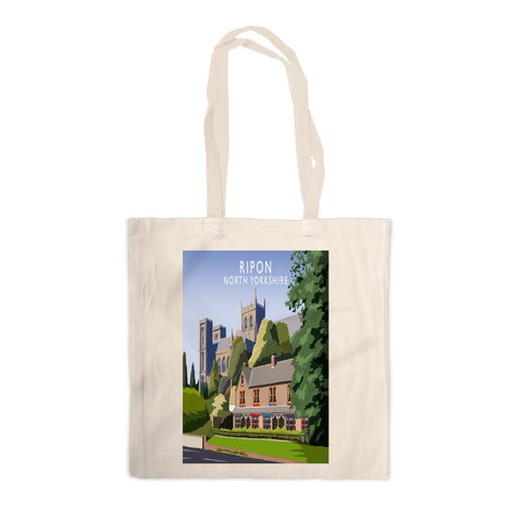 Ripon, North Yorkshire Canvas Tote Bag