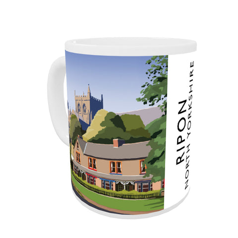 Ripon, North Yorkshire Coloured Insert Mug