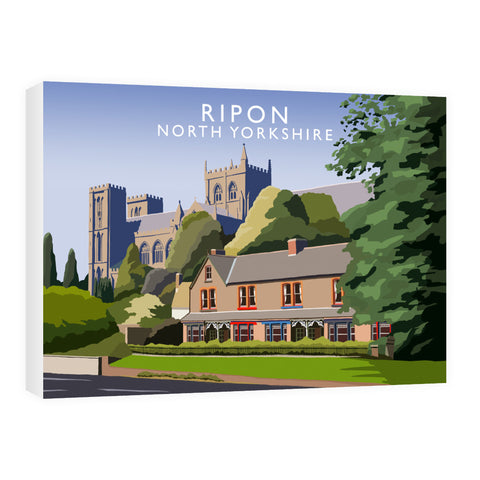 Ripon, North Yorkshire 60cm x 80cm Canvas