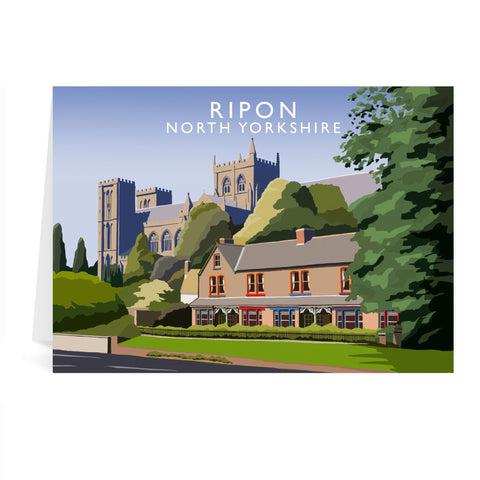 Ripon, North Yorkshire Greeting Card 7x5
