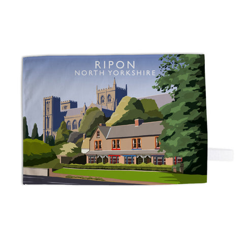 Ripon, North Yorkshire Tea Towel