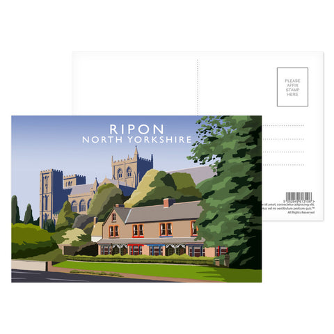 Ripon, North Yorkshire Postcard Pack