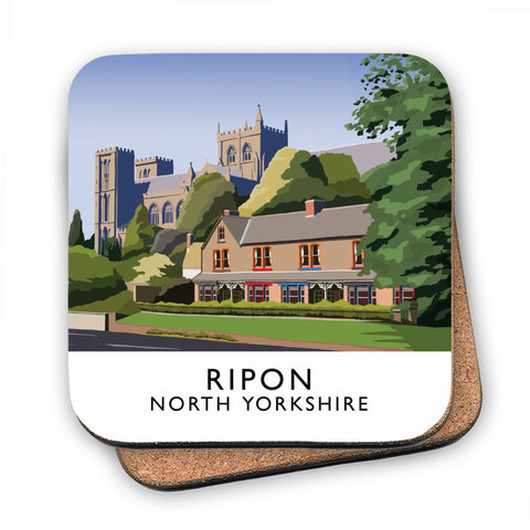 Ripon, North Yorkshire MDF Coaster