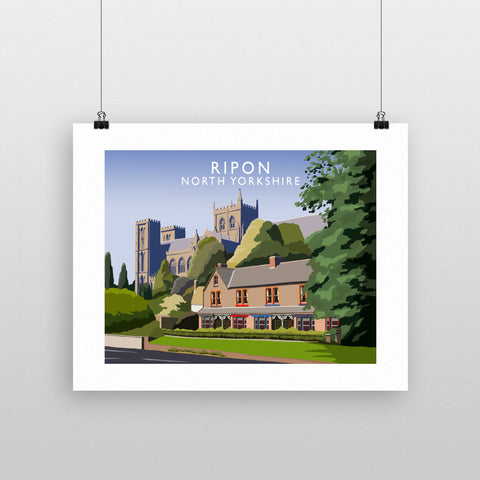 Ripon, North Yorkshire 90x120cm Fine Art Print
