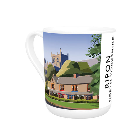 Ripon, North Yorkshire Bone China Mug