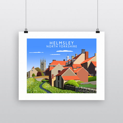 Helmsley, North Yorkshire 90x120cm Fine Art Print