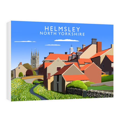 Helmsley, North Yorkshire 60cm x 80cm Canvas