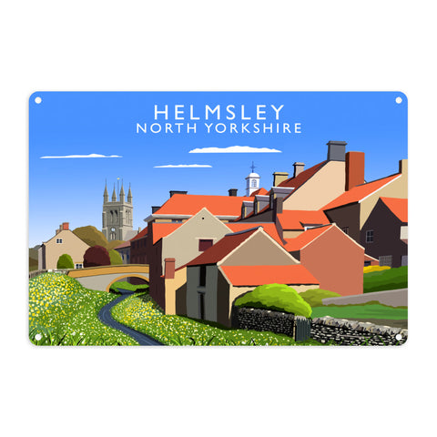 Helmsley, North Yorkshire Metal Sign