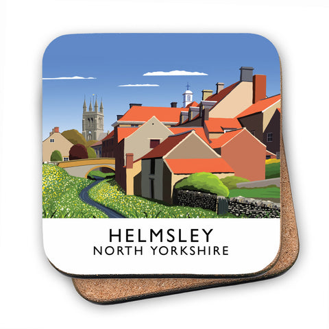 Helmsley, North Yorkshire MDF Coaster