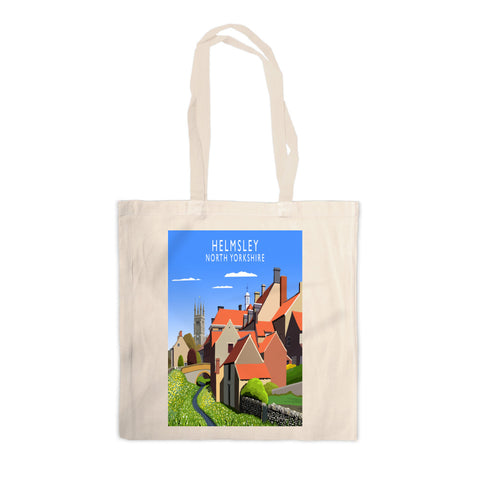 Helmsley, North Yorkshire Canvas Tote Bag