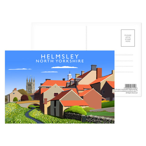 Helmsley, North Yorkshire Postcard Pack