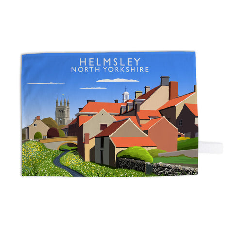 Helmsley, North Yorkshire Tea Towel