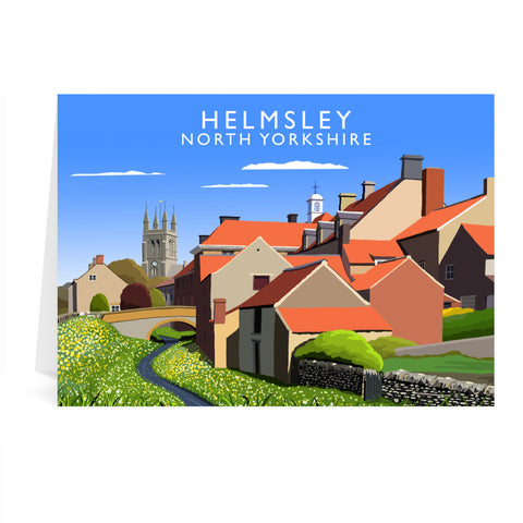 Helmsley, North Yorkshire Greeting Card 7x5