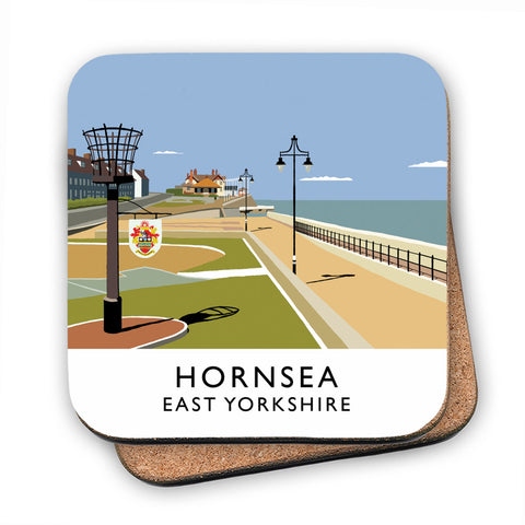 Hornsea, East Yorkshire MDF Coaster