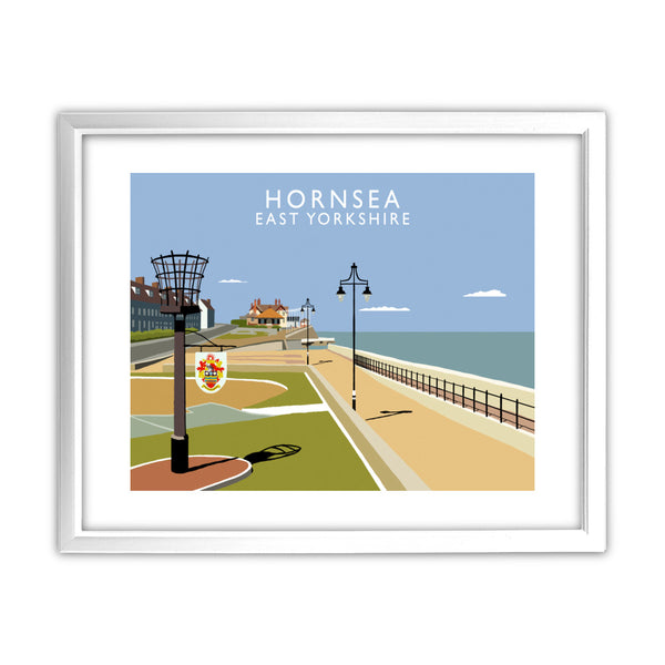 Hornsea, East Yorkshire 11x14 Framed Print (White)