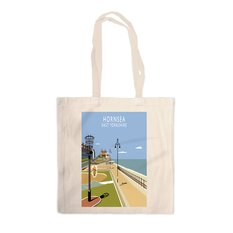 Hornsea, East Yorkshire Canvas Tote Bag