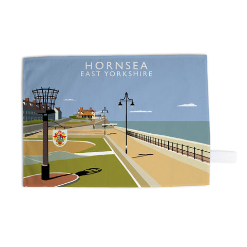 Hornsea, East Yorkshire Tea Towel