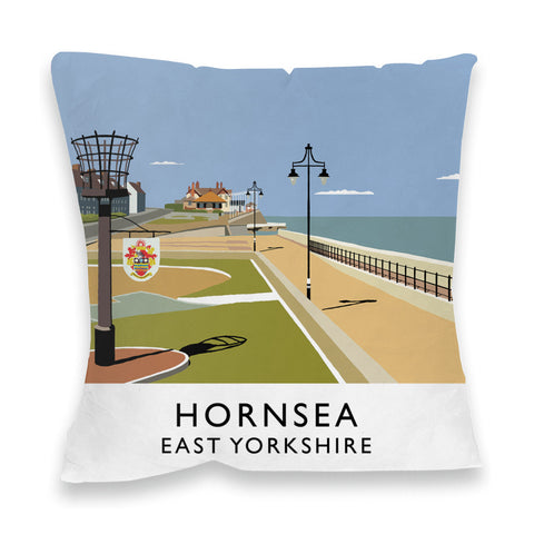 Hornsea, East Yorkshire Fibre Filled Cushion