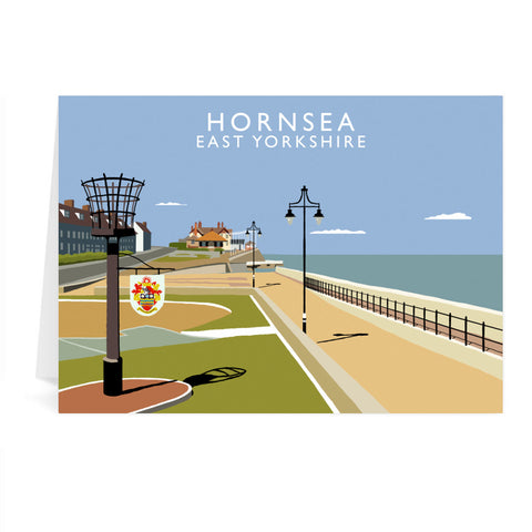 Hornsea, East Yorkshire Greeting Card 7x5