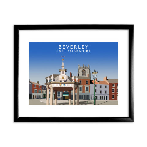 Beverley, East Yorkshire 11x14 Framed Print (Black)