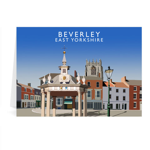 Beverley, East Yorkshire Greeting Card 7x5