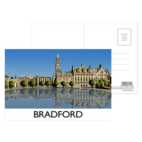 Bradford, West Yorkshire Postcard Pack