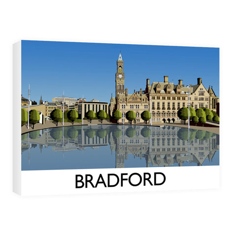 Bradford, West Yorkshire 60cm x 80cm Canvas