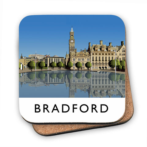 Bradford, West Yorkshire MDF Coaster
