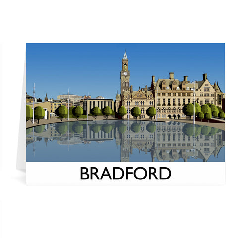 Bradford, West Yorkshire Greeting Card 7x5