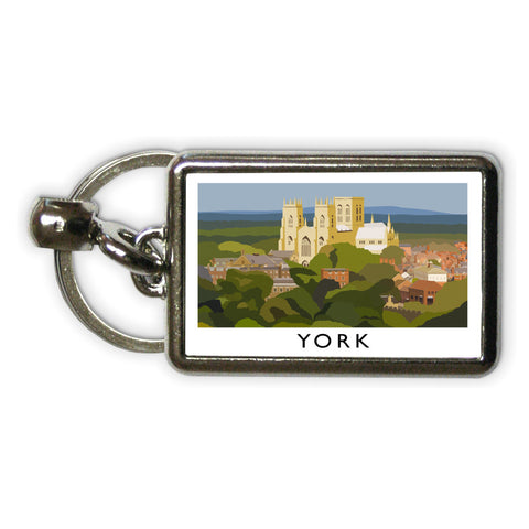 York, Yorkshire Metal Keyring