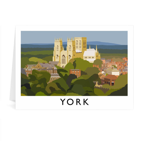 York, Yorkshire Greeting Card 7x5