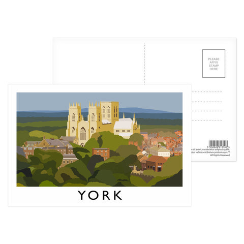 York, Yorkshire Postcard Pack