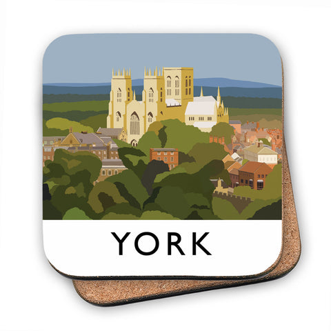 York, Yorkshire MDF Coaster