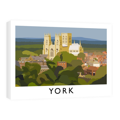 York, Yorkshire 60cm x 80cm Canvas