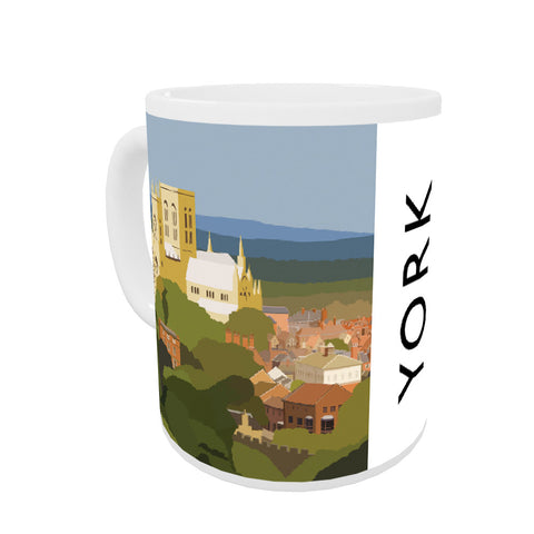 York, Yorkshire Coloured Insert Mug