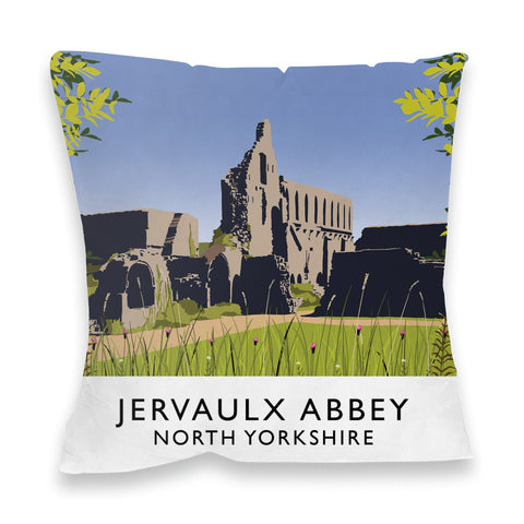 Jervaulx Abbey, North Yorkshire Fibre Filled Cushion