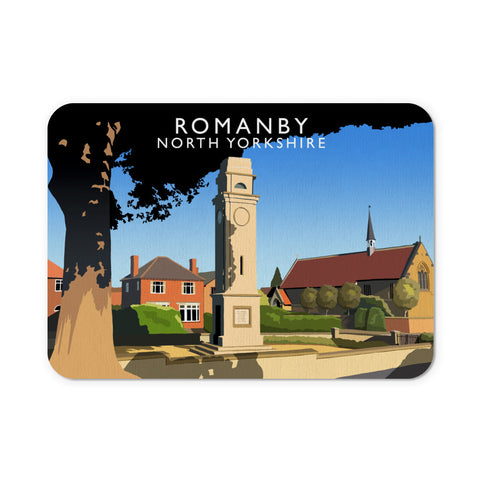 Romanby, North Yorkshire Mouse Mat