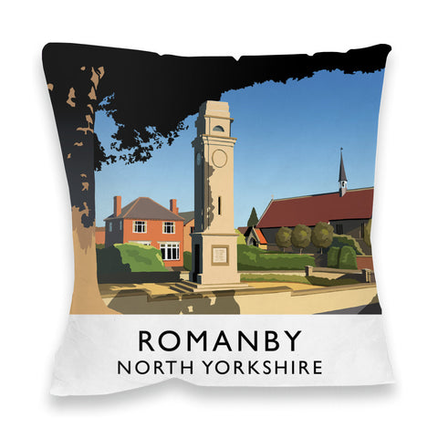 Romanby, North Yorkshire Fibre Filled Cushion