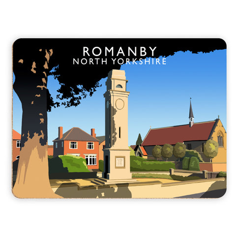 Romanby, North Yorkshire Placemat