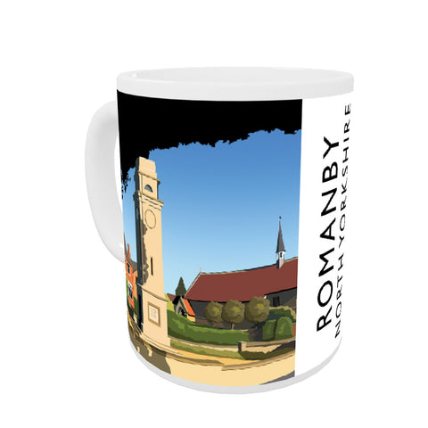 Romanby, North Yorkshire Coloured Insert Mug