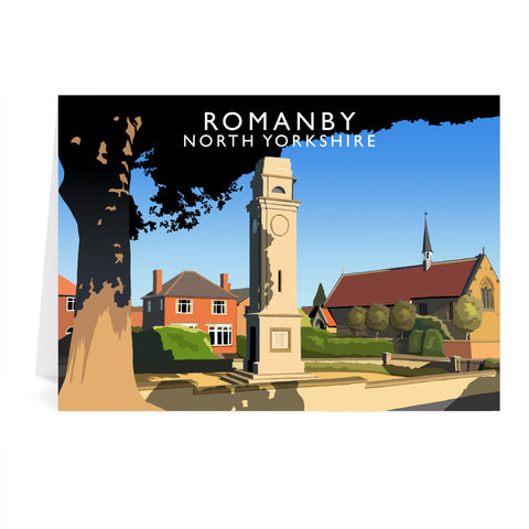 Romanby, North Yorkshire Greeting Card 7x5
