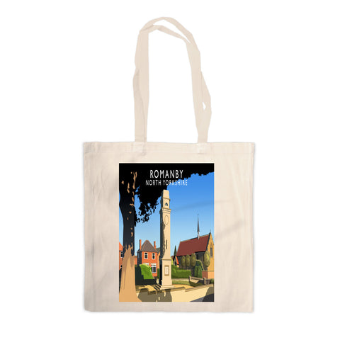Romanby, North Yorkshire Canvas Tote Bag